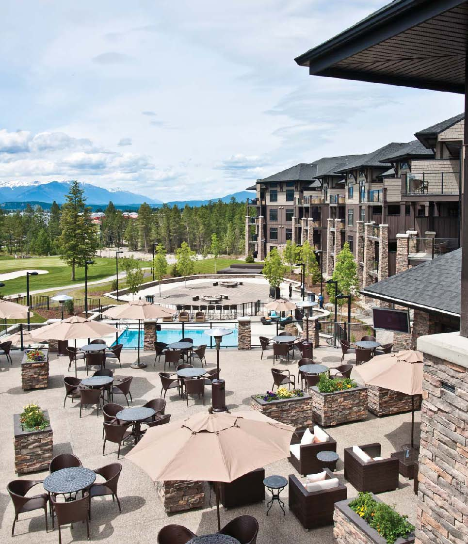 Upscale Resort Copper Point Resort is a business for sale in BC.