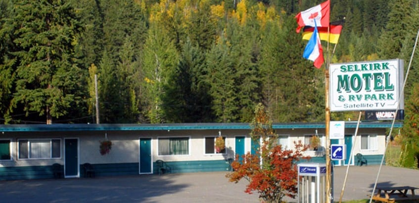 Selkirk Motel RV Park is a business for sale in BC.