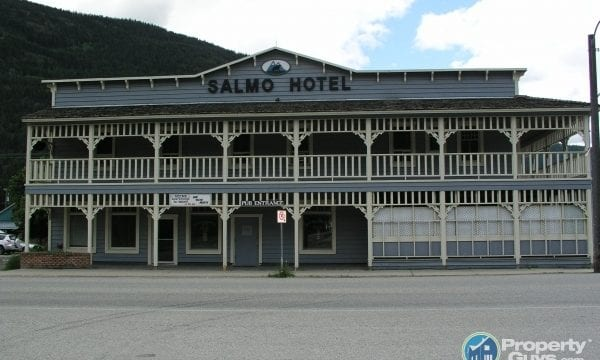 Heritage Hotel Restaurant Salmo is a business for sale in BC.