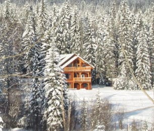 Eh Canadian Lodge in Blaeberry is a business for sale in BC.