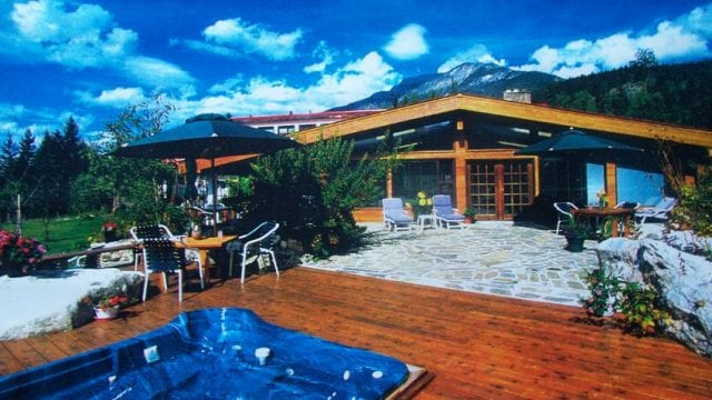 Family Style Lodge on 47 acres is a business for sale in BC.