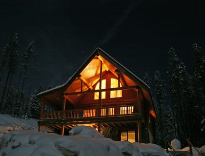Luxury Log Chalets Rentals Dev Land is a business for sale in BC.