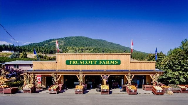 Famous Truscott Farms for Sale is a business for sale in BC.