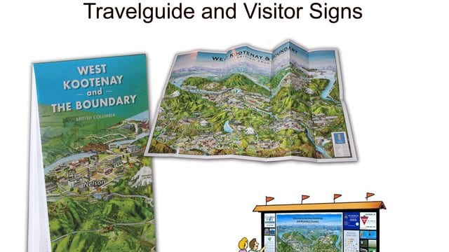 Established Travelguide Visitor Signs is a business for sale in BC.