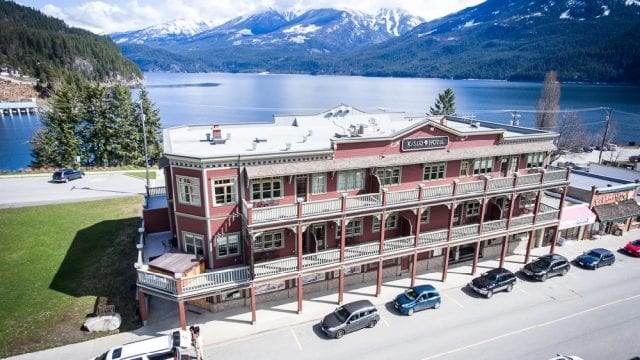 The Kaslo Hotel For Sale is a business for sale in BC.