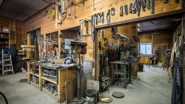 The Kootenay Forge Artisan s Shop is a business for sale in BC.