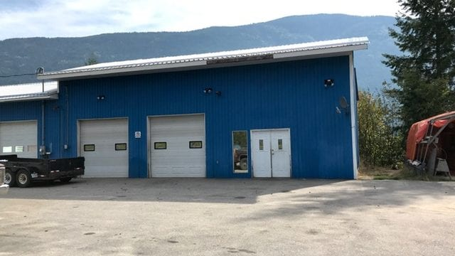 Highway Access Building for Lease is a business for sale in BC.