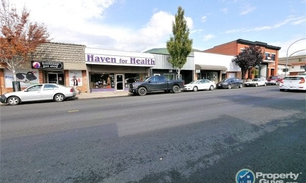 Downtown Creston Commercial Space 198381 is a business for sale in BC.