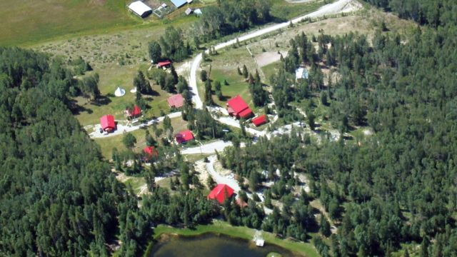 Lodge on 148 Acre Property is a business for sale in BC.