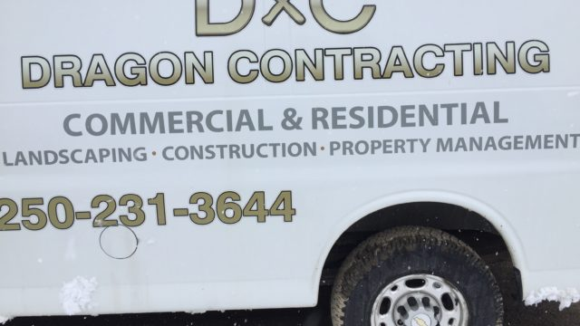 Dragon Contracting is a business for sale in BC.