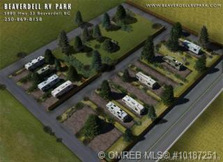 Beaverdell RV Park is a business for sale in BC.