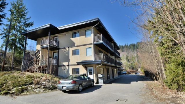 Apartment Building For Sale Castlegar is a business for sale in BC.