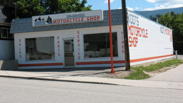 Koots Motorcycle Shop is a business for sale in BC.