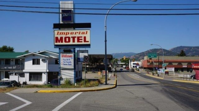 The Imperial Motel is a business for sale in BC.
