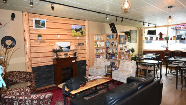 Blackbear Books and Coffee House Creston is a business for sale in BC.