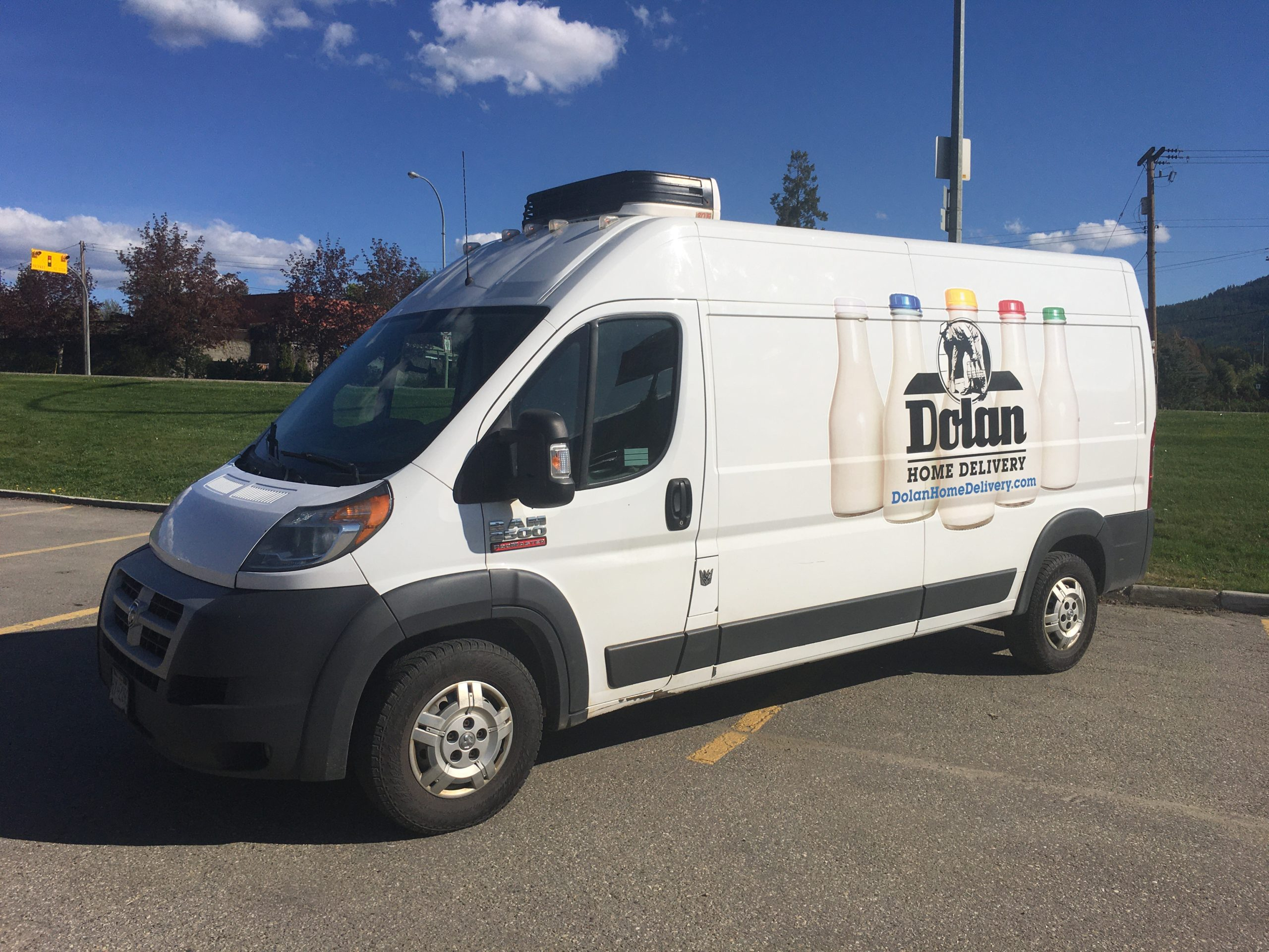 Specialty grocery home delivery company is a business for sale in BC.