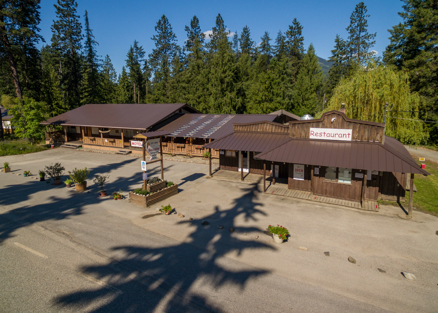 Boccalino Restaurant Cabins Motel is a business for sale in BC.